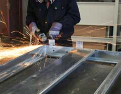 commercial sheet metal fabrication